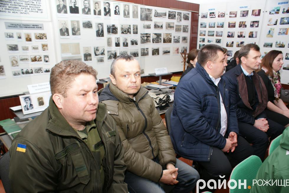 Сергій Волощук та Микола Свистак