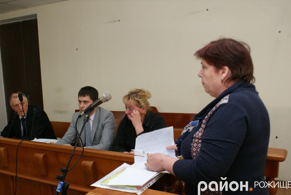 Свідок Тамара Романюк