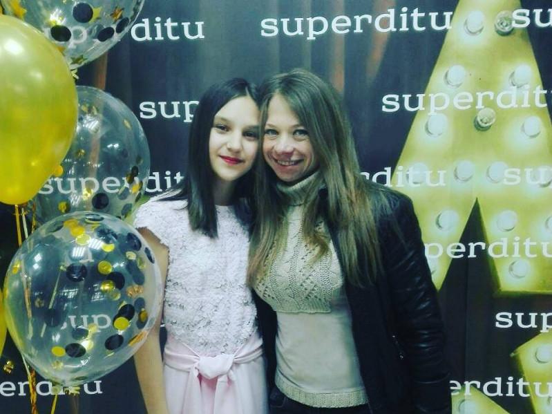 Вікторія Гурська зі своєю ученицею Софією Міненко