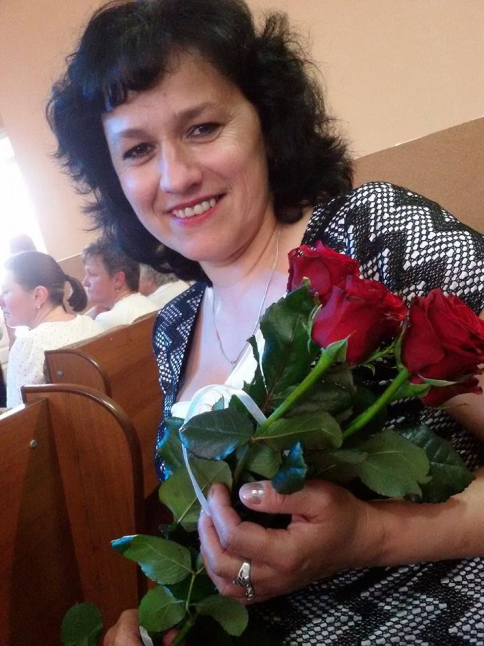 Ірина Юрчук, учасниця художньої самодіяльності РД «Просвіта»