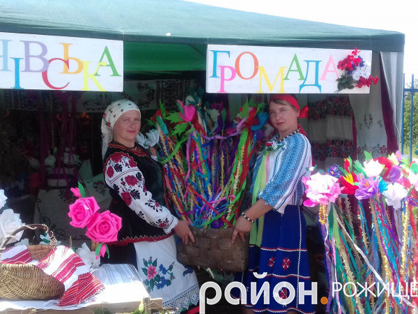 Як «Кременчанка» на фестивалі в Голобах коровай ділила - Район Рожище 0d7323c4d65d5