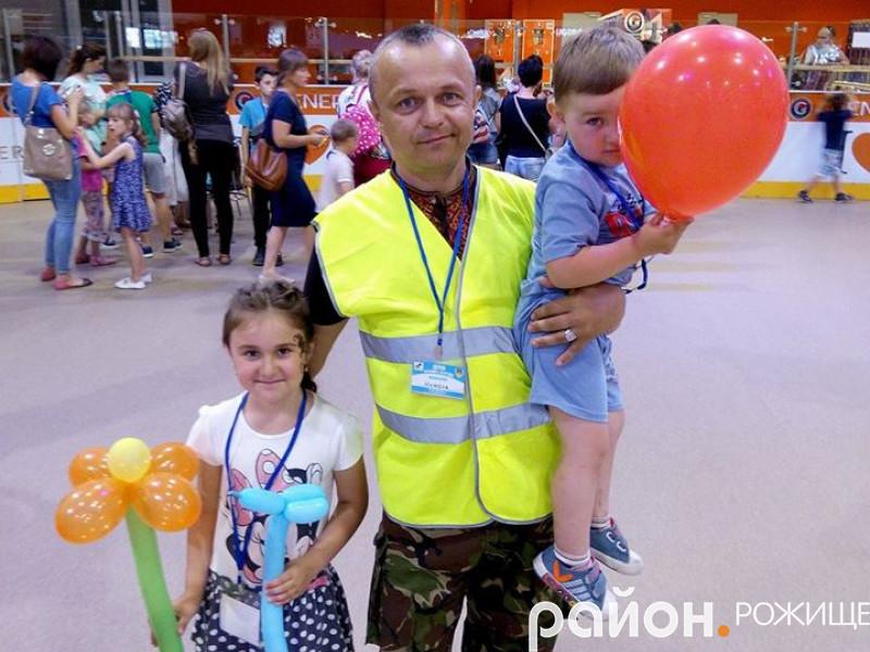 Микола Свистак, демобілізований військовослужбовець, волонтер