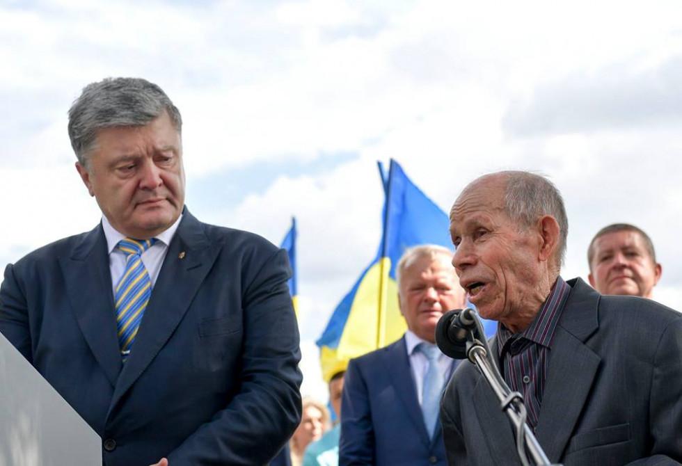 Володимир Янко з президентом України Петром Порошенко