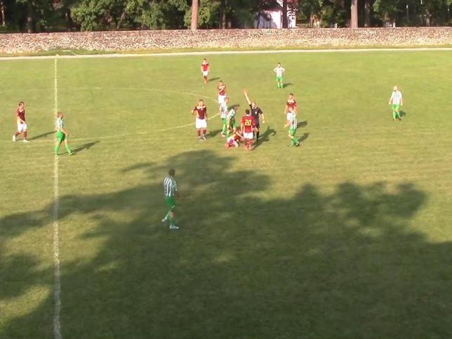 Під час матчу в Ківерцях