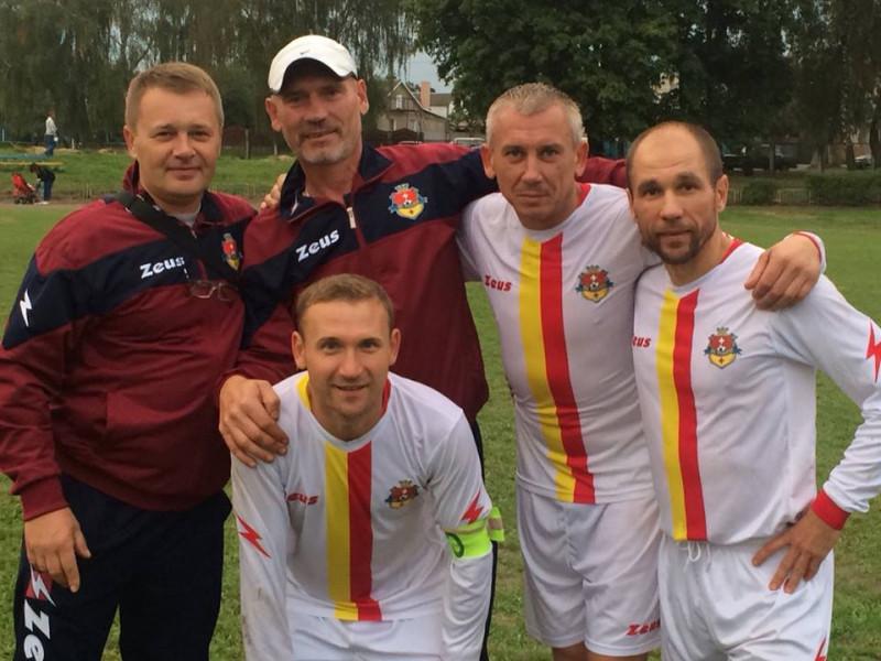 Як футболісти «Рожища» зіграли у другому турі чемпіонату Волині з футболу