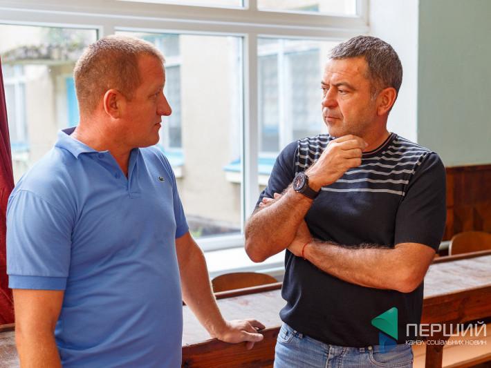 Сергій Мартиняк у Рожищенському районі