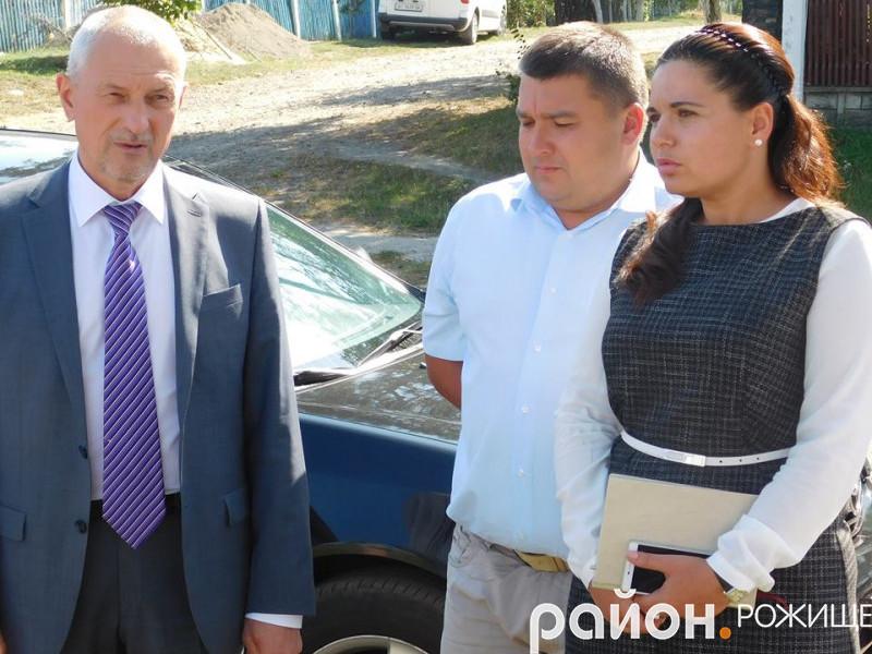 Олександр Савченко побував у Рожищі