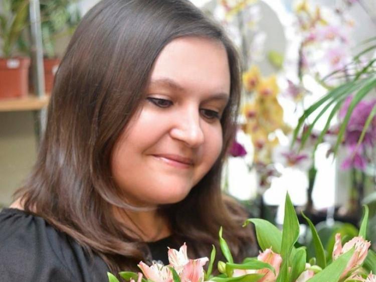Українська письменниця Ольга Ляснюк