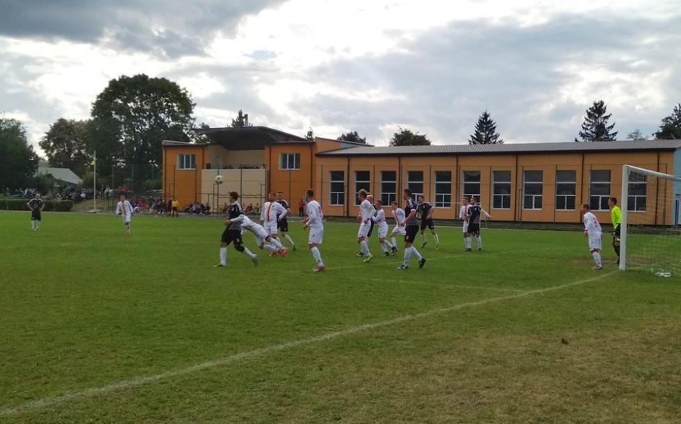 Фото з недільного матчу ФК « Рожище» 6 - 1 Шахтар (Нововолинськ)