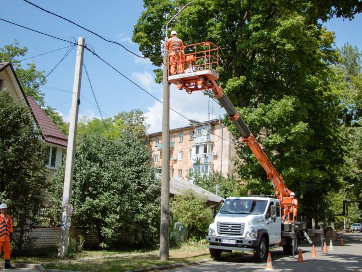 У райцентрі ремонтуватимуть вуличне освітлення.