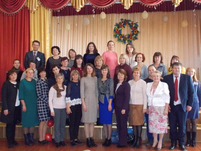 Рожищенські педагоги приймали делегацію освітян з інших районів.
