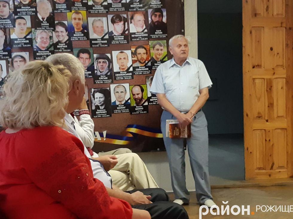 Заслужений журналіст України Василь Федчук