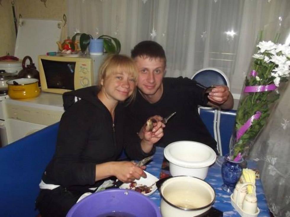 А на вечерю у подружжя Гурських була риба)