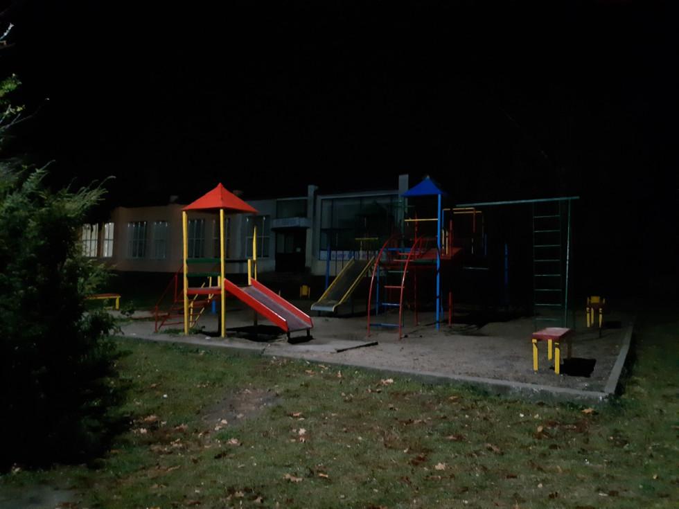 Освітлення у парку