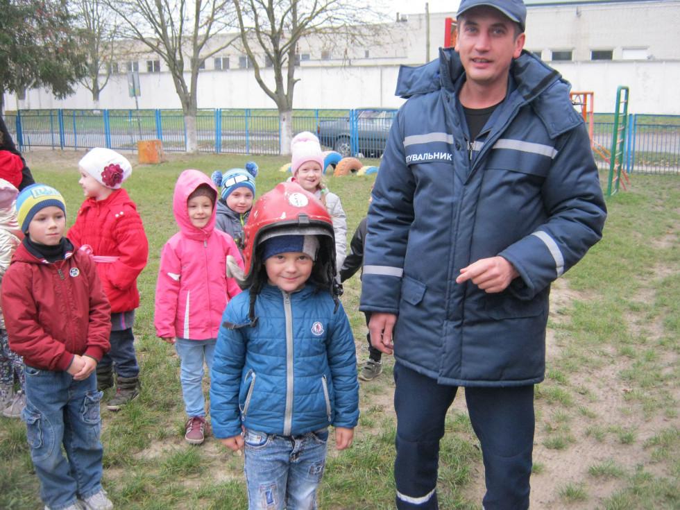 Рятувальники завітали у гості до дошкільнят