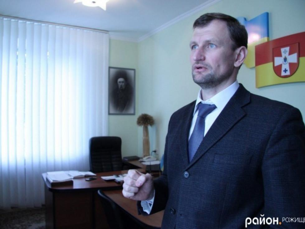 голова Рожищенської районної ради Андрій Музика