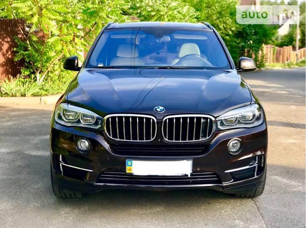 Коричневый Внедорожник / Кроссовер BMW X5 (БМВ Х5) 2014.