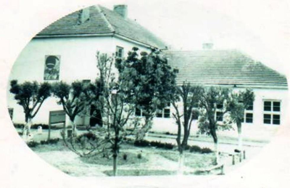 Вигляд школи у 1950-х рр