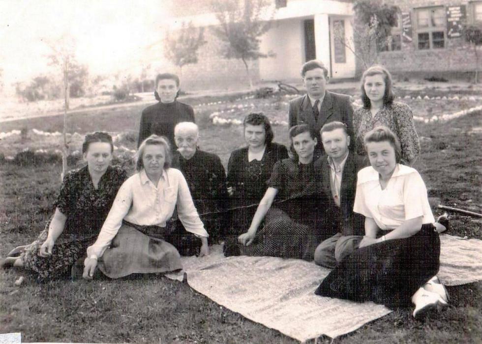Вчителі школи. 1948 рік
