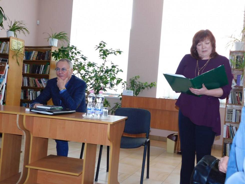 Модерувала західдиректоркабібліотеки Світлана Матвійчук.