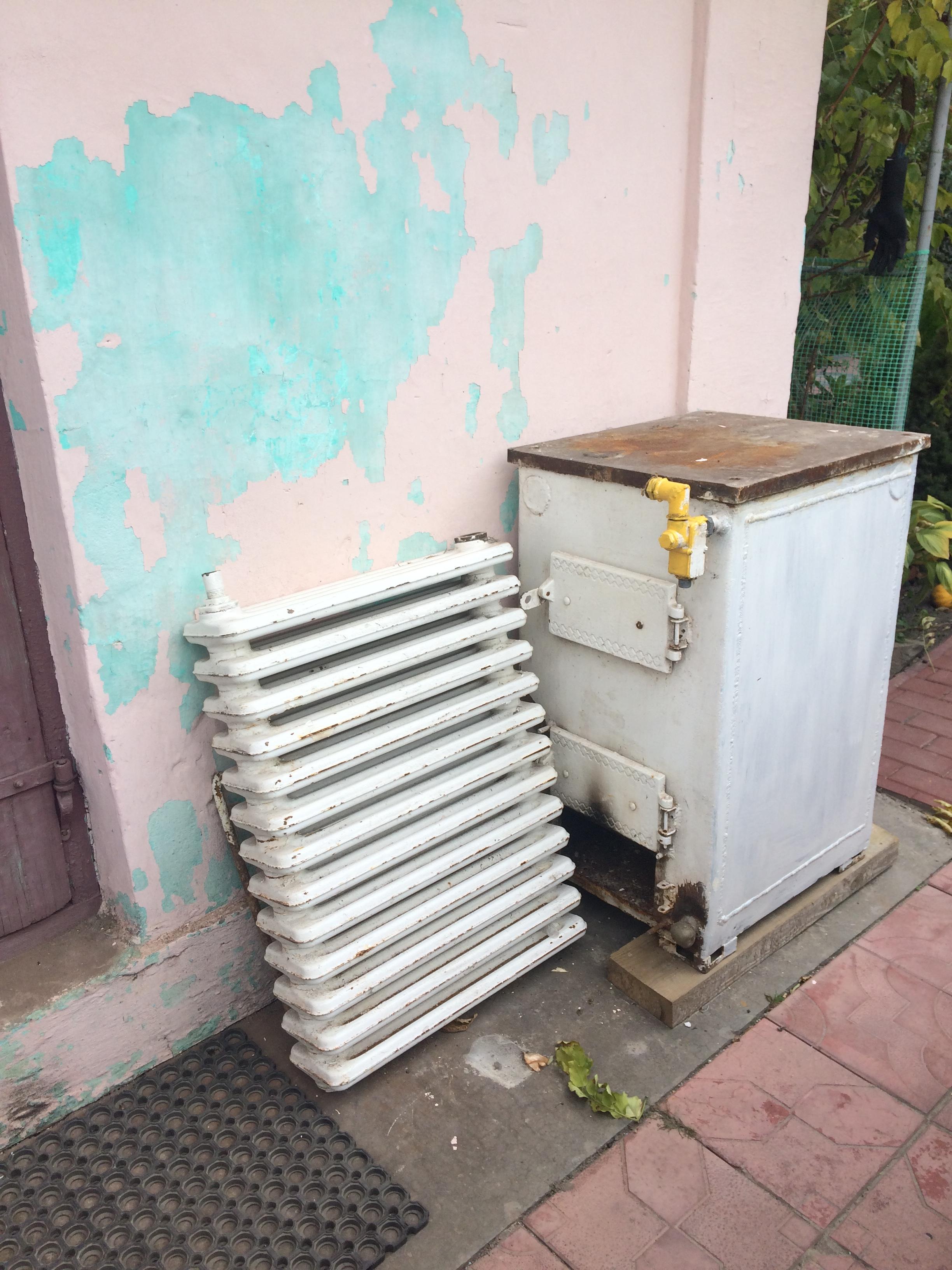 Радіатори опалення, Котел кчм з газовою апаратурою апок