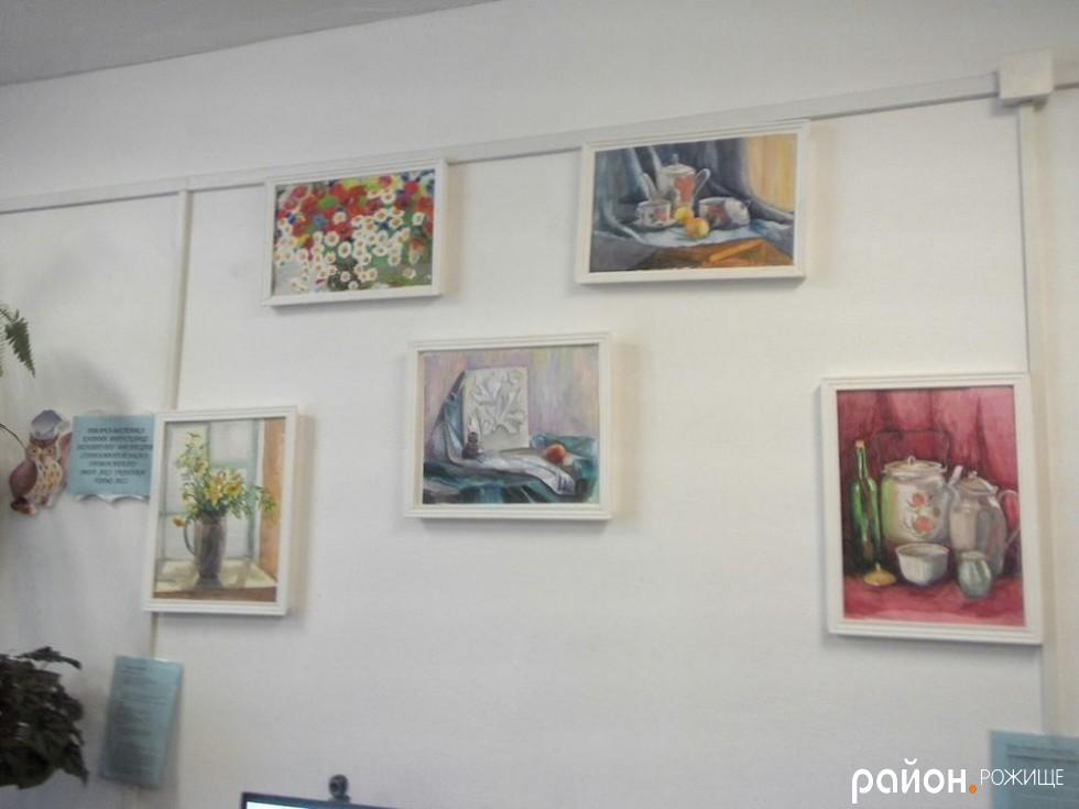 Виставка картин Лесі Геньо.