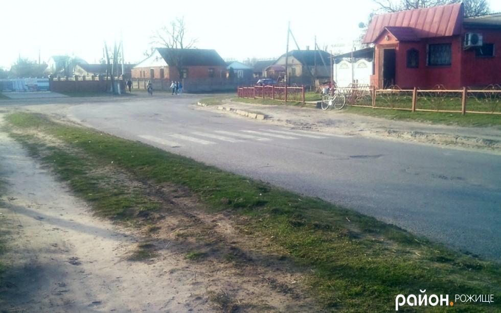 Пішохідна розмітка на вул. Чайковського