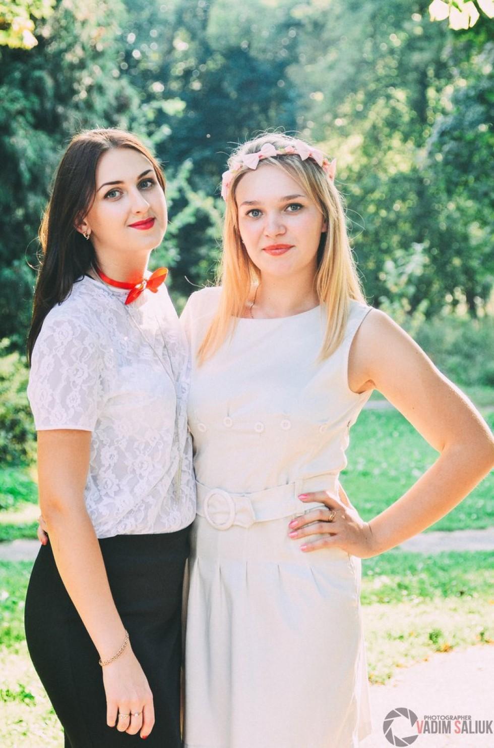 Катерина Антюхова та Ірина Овадюк