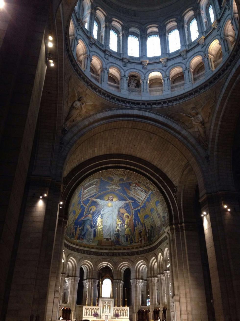 Жіночий монастир на Монмантрі в Парижі