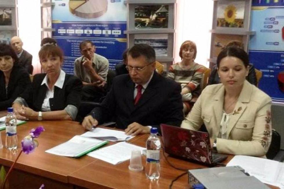 Олег Савчук та його дружина - Інна Гайворонська (колишній та нинішня голов Рожищенської РДА)
