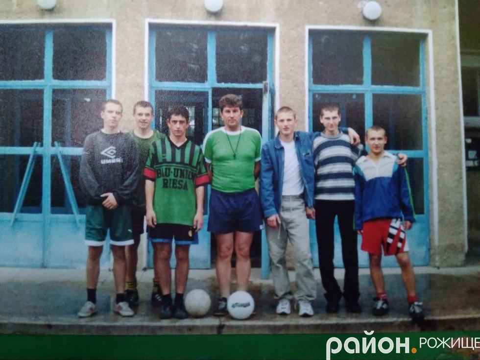 Студентські роки Василя Присяжнюка
