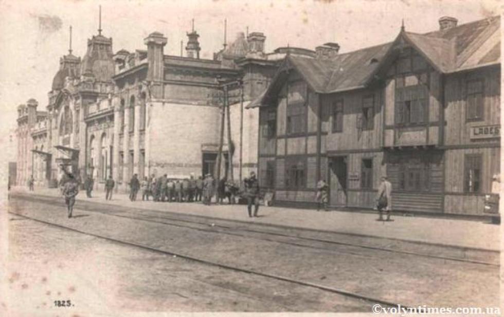 На Ковельському вокзалі