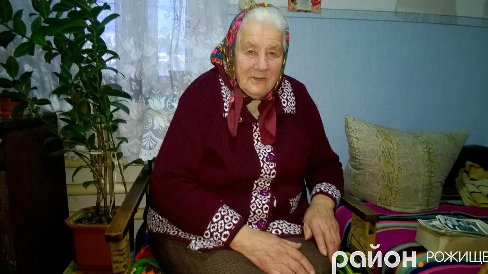 90-літня Хівонія Кицун з Кияжа