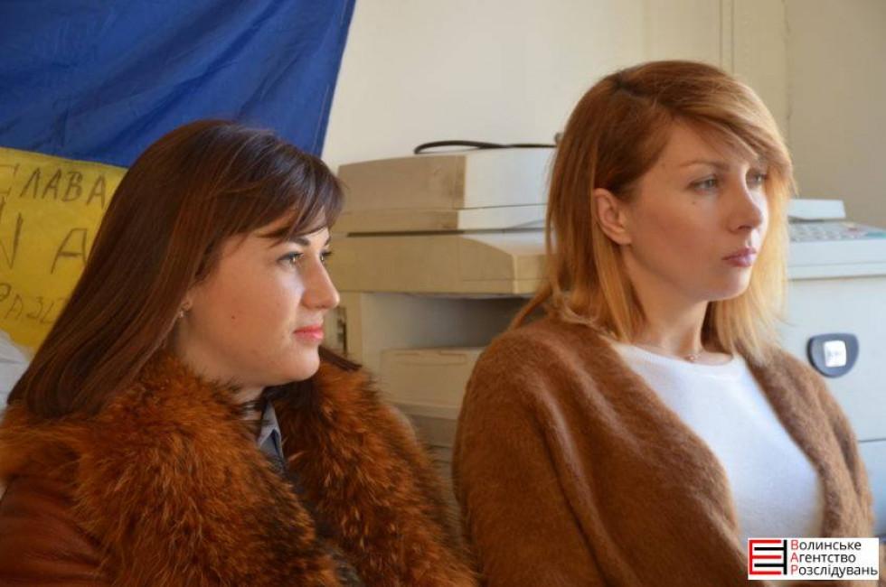 Анастасія Стасюк та Наталія Чуль