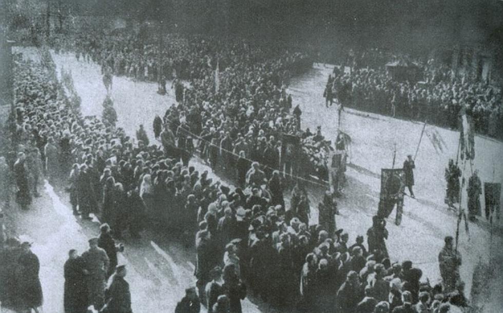 Похорон студентів, котрі загинули під Крутами