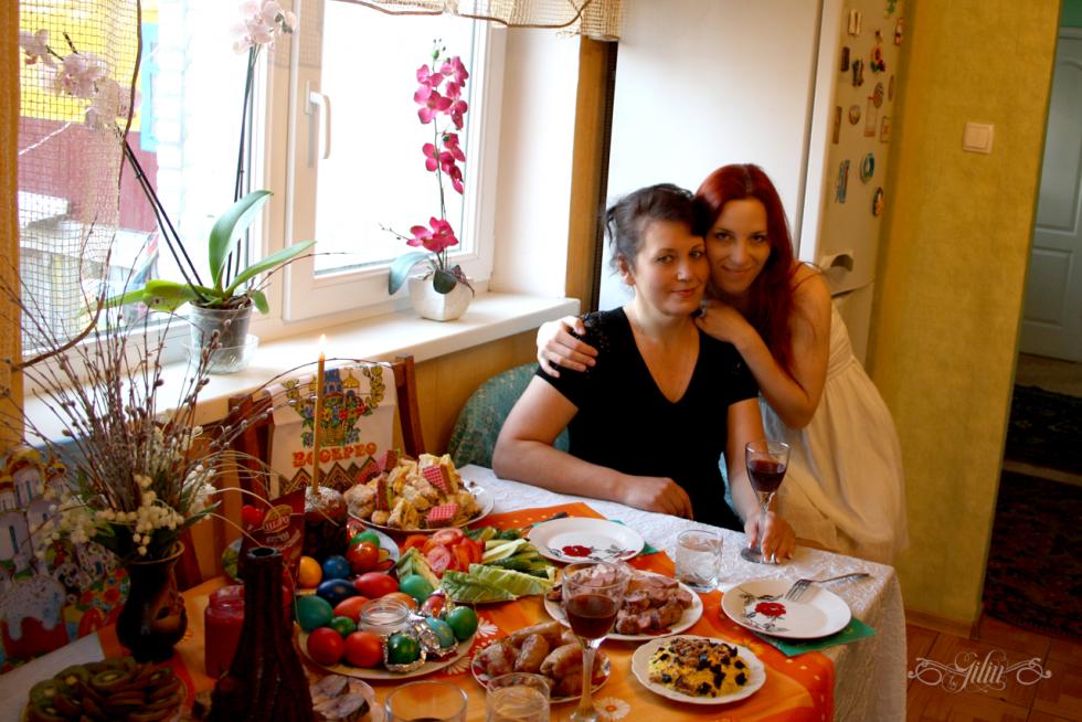 Катерина Іщук з мамою Зоєю