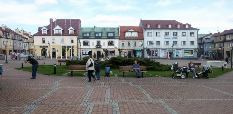 Місто Жори, Польща. Фото з приватної колекції Алли Брожини