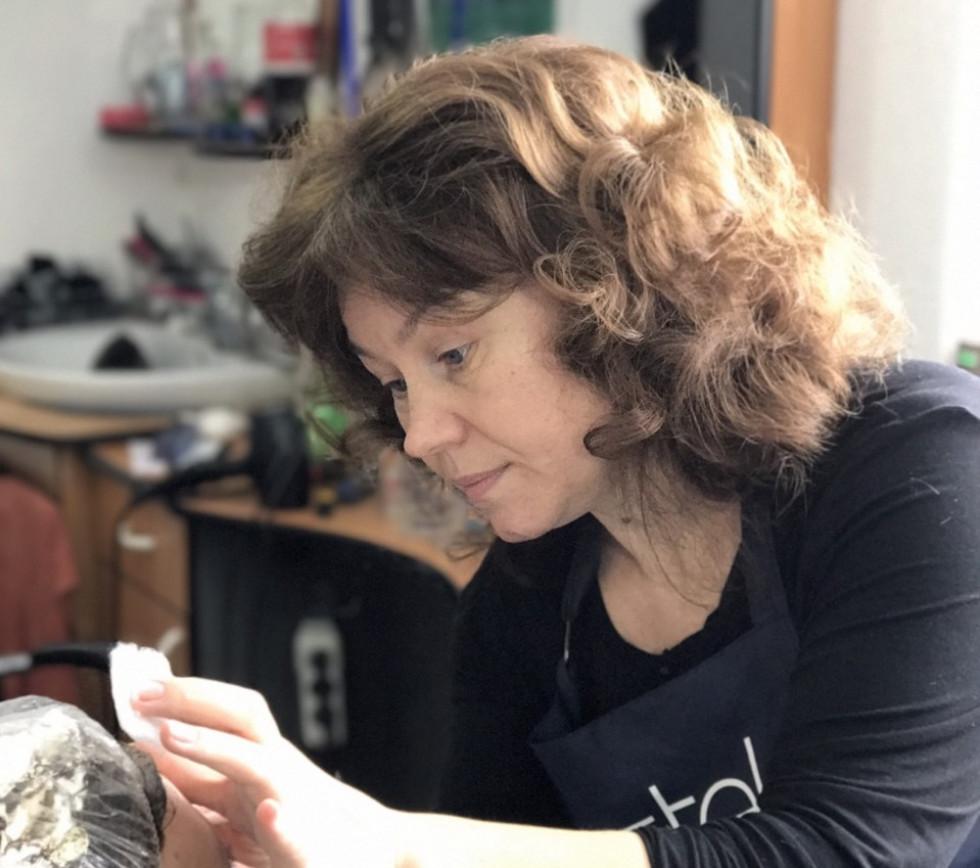 Власниця перукарні «Оксана» Оксана Майструк