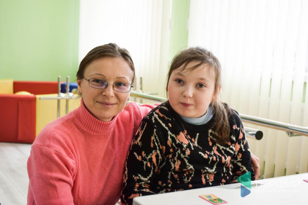 Саша займаэться у Рожищенсьому інклюзивно-ресурсному центрі