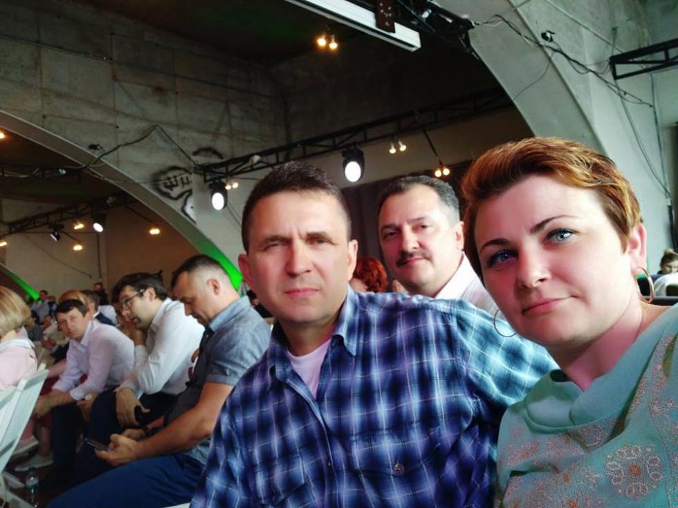 Представник рожищенського району, 13-ий номер у списку «Самопомочі» до Верховної Ради Руслан Хомич