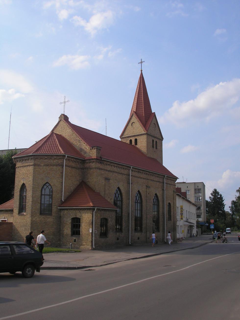 Німецька кірха у Володимирі-Волинському