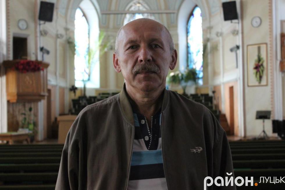 Історик Михайло Костюк досліджує німецьку колонізацію на Волині з 1993 року