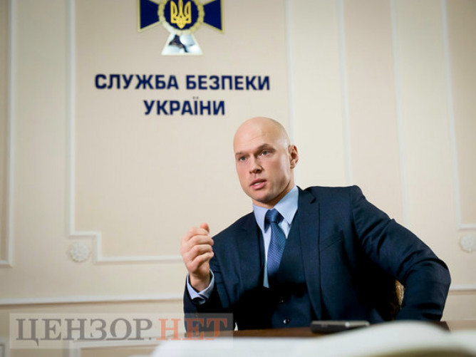 Начальник управління уДепартаменті кібербезпеки Служби безпеки України Ілля Вітюк