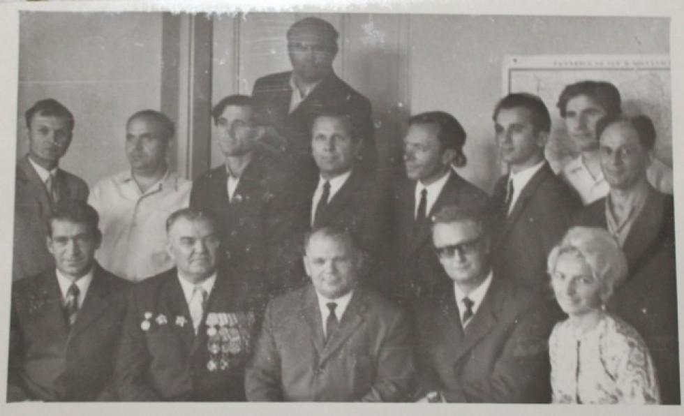 Вересень 1972 року, після вручення призів учасникам конкурсу Плоди братерської дружби